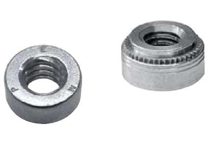 Type A4//AS//AC Pem Floating Self-Clinching Fasteners Unified AS-0428-2ZI