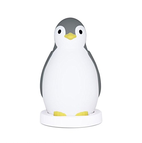 kids-sleep-trainer-night-light-and-bluetooth-speaker-pam-the-penguin-grey