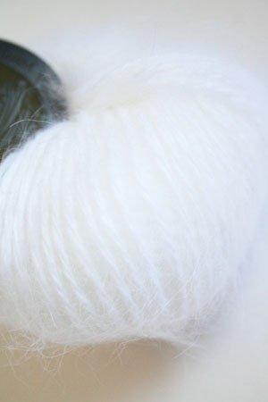 (Belangor French Angora Yarn (801 White))