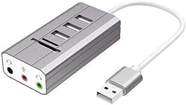 Acutty - Tarjeta de Sonido Externa TF/SD (Tipo C/USB 3.0): Amazon ...
