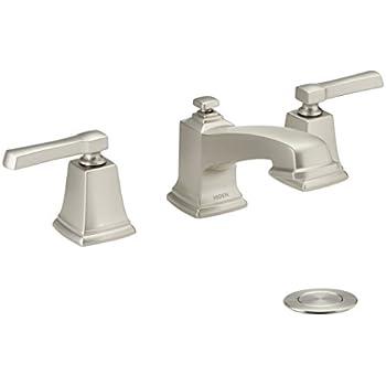 Moen 84820 Double Handle Widespread Bathroom Faucet from the ...