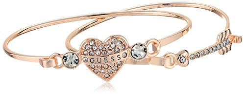 - GUESS Women's Tension Bracelet Duo, Rose Gold, One Size