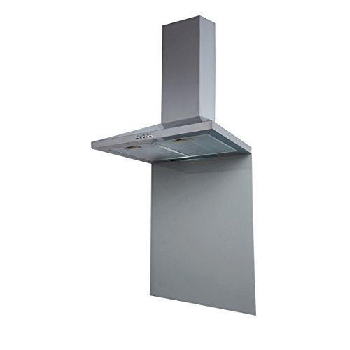 SIA SP70GY 70cm x 75cm Toughened Glass Splashback In Grey