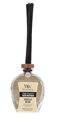 WoodWick Vanilla Bean Large 7 oz Reed Diffuser