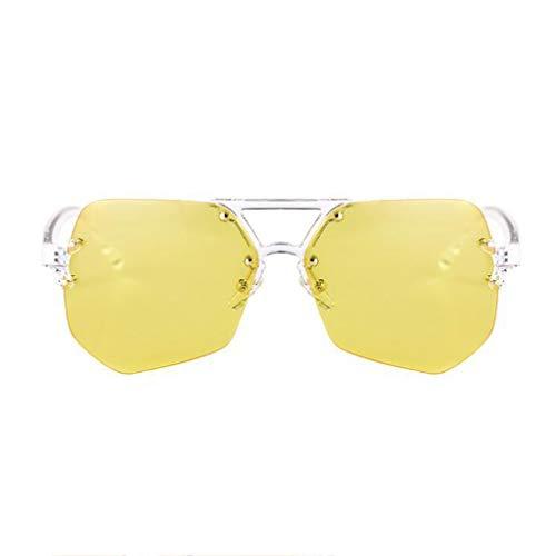 Polygon B Big Sport Wave Sunglasses personnalité A de Couleur lunettes Nouvelle Femme Box soleil Des pTXH0x