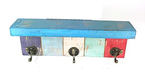 Deco 79 55587 Wood & Metal Hockey Wall -