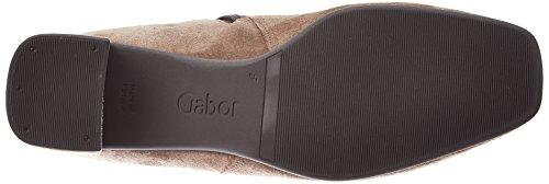 Gabor Dames Basic Laarzen, Zwart Bruin (18 Walnoot)