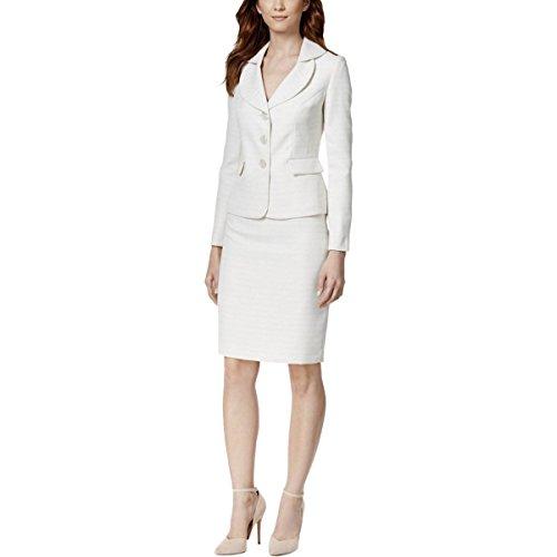 Le-Suit-Womens-Monte-Carlo-Textured-2PC-Skirt-Suit