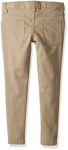 Classroom Uniforms Big Girls' 5 Pocket Stretch Skinny Pant, Khaki, 8 by Classroom Uniforms (Image #2)