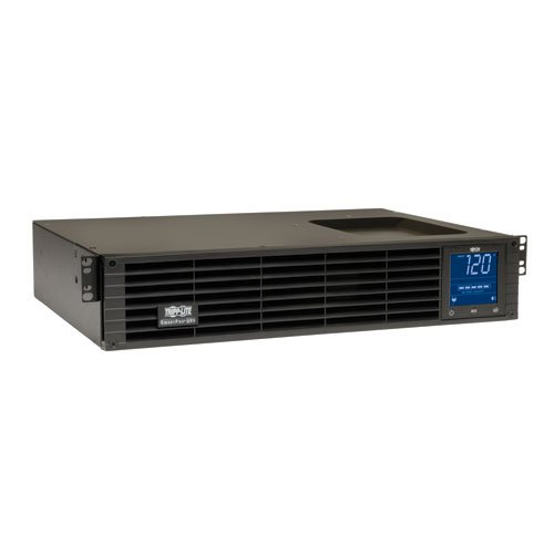 Tripp Lite 1000VA Sine Wave UPS Battery Backup, LCD, 700W AVR Line-Interactive, 2U Rackmount, USB, DB9 (SMC10002URM)