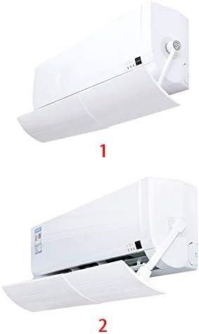 Spachy Cinta deflectora de Viento para Aire Acondicionado, antisoplado Directo, Longitud Ajustable, 2, Tamaño Libre: Amazon.es: Hogar