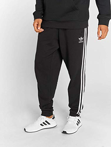 Adidas stripess 3 Nero Pantaloni Uomo F1S0FqO