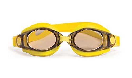 """UPC 257554472788, 7"""" Silicone Sport/Fitness Yellow Goggles Swimming Pool Accessory for Juniors, Teens and Adults"""