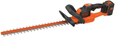 BLACK DECKER 40V MAX Cordless Hedge Trimmer with POWERCOMMAND Powercut, 24-Inch LHT341FF