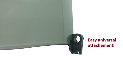 42b71473c486 EliteTek Football   Lacrosse Eye-shield Visor (Smoke Tinted ...