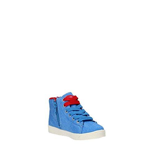 LULU' sneakers Mädchen Blau segeltuch strass AG663