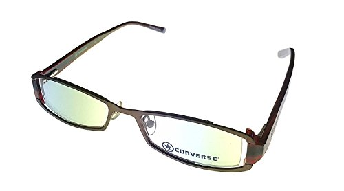 Converse Ophthalmic Modified Rectangle Metal Frame, Minx Brown