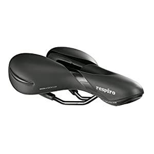 Selle Royal Respiro Men's Moderate Cool Xsenium Bicycle Saddle, Black