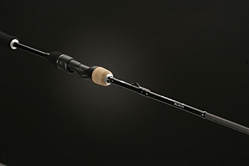 13 Fishing One 3 Defy M Spinning Rod, 6.7', Black