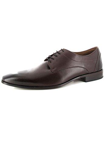 Homme Lacets Marron Chaussures Pour Ville Manz À De Y17wqqfZ