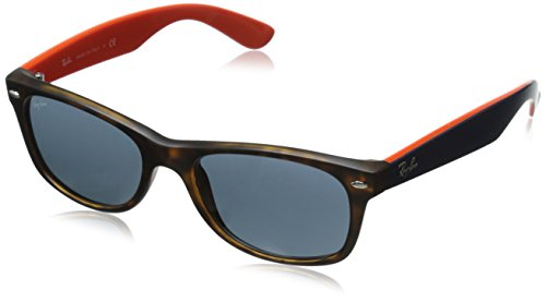 Ray-Ban New Wayfarer Classic, Havana Grey & Top - Havana Lenses Frame Grey Brown