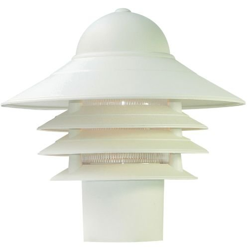 Acclaim 87TW Mariner Collection 1-Light Post Mount Outdoor Light Fixture, Textured White by Acclaim