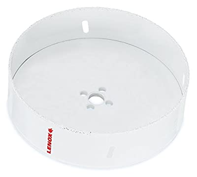 Lenox Tools 12100538RL Master Grit Recessed Lighting Hole Saw, 5-3/8-Inch
