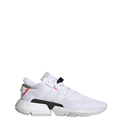 adidas Originals Men's POD-S3.1 PK Footwear White/Footwear White/Shock Red 10.5 D US