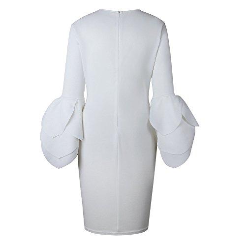 Bekleidung Vovotrade Damen Lange Ärmel Kleid Frau Rock Frau ...