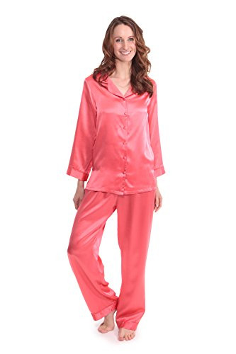 texeresilk-womens-luxury-silk-pajama-set-morning-dew-coral-large-best-gifts-for-bridal-shower-ws0001