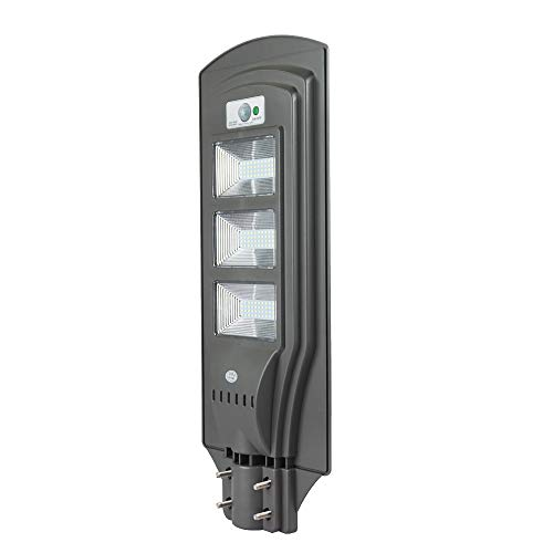 ECO LLC 60W LED Solar Powered Wall Street Light PIR Motion Outdoor Garden Lamp by ECO LLC (Image #1)