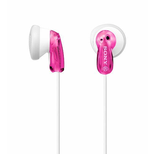 Sony MDR E9LP Pink Earbud Heaphones product image
