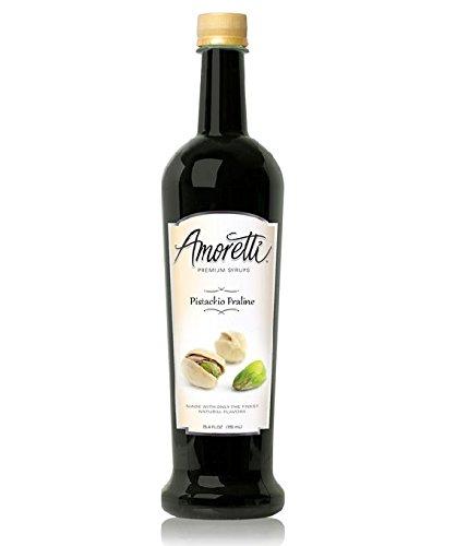Amoretti Premium Syrup Pistachio Praline 254 Ounce