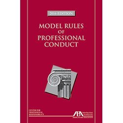 Model Rules Of Prof.Conduct 2016 Edit.