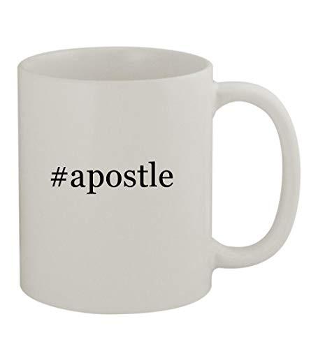 #apostle - 11oz Sturdy Hashtag Ceramic Coffee Cup Mug, White