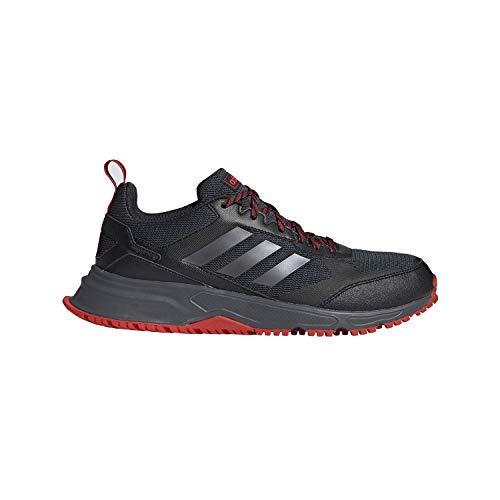 adidas Men's Rockadia Trail 3.0 Running Shoe, Black, 12 M US
