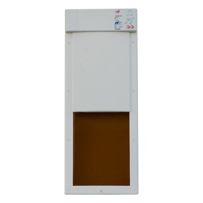 Power Pet Door Size: Small (28.625'' H x 12'' W x 2'' D) by High Tech Pet