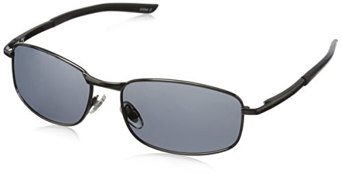 Dockers Men's Wing 10227097.JCP Polarized Square Sunglasses, Gun, 52 - Docker Sunglasses