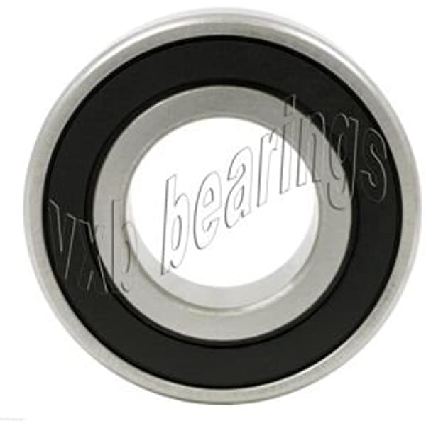 2 Bearing 6006ZZ 30mm Outer Diameter 55mm Metric Ball