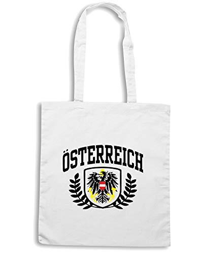 Speed Shirt Borsa Shopper Bianca TSTEM0074 OSTERREICH