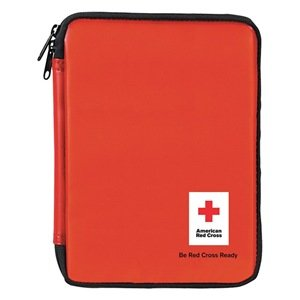 American Red Cross First Aid Kit, Kit, PVC Case Material, Family, 10 People Served Per Kit - 1 Each