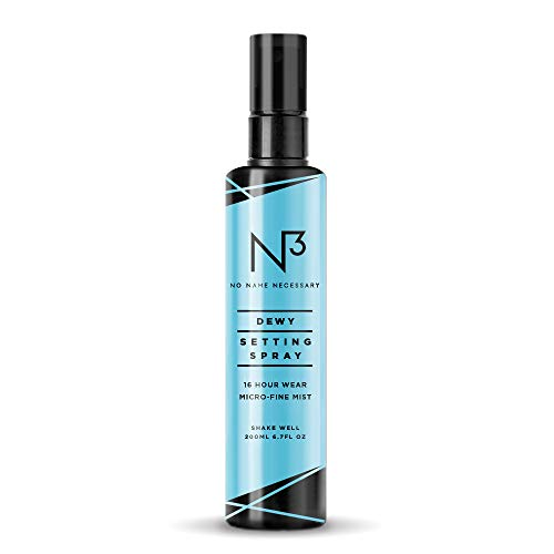 - N3 No Name Necessary Dewy Scented Extreme Long Lasting and Hydrating Anti-aging Makeup Setting Spray (100ml)