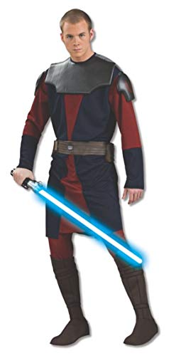 Rubie's Men's Star Clone Wars Deluxe Anakin Skywalker Costume, Multicolor, Extra-Large]()