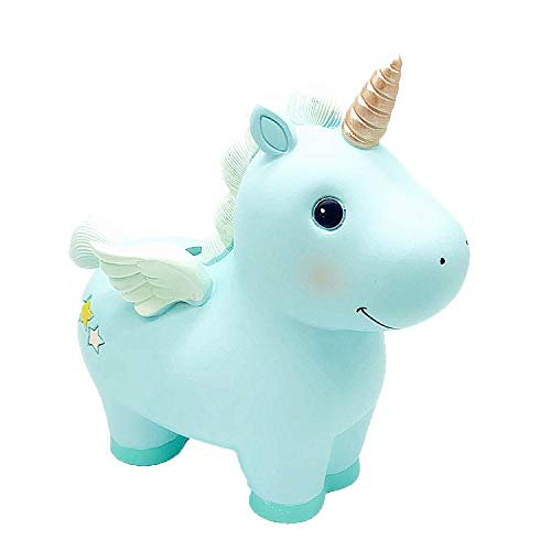 Yevir Lovely Rainbow Unicorn Large Size Piggy Bank, As The Best Birthday Gifts for Kids, Boys Girls. Money Bank Also Could As Home Decoration ()