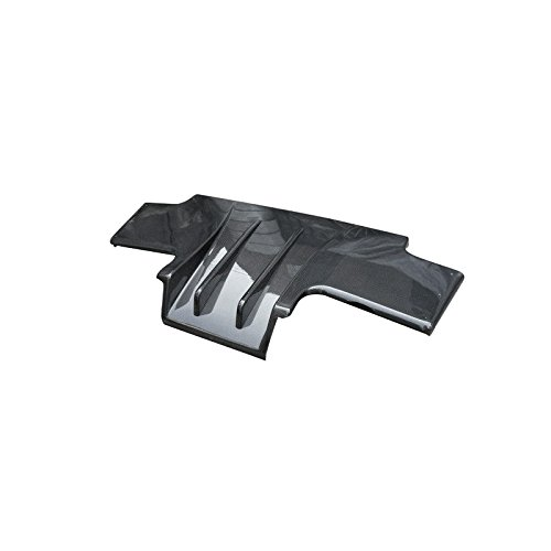 EPR Carbon Fiber For NISSAN Skyline R33 GTR TS Style Type 2 With Fins Rear Diffuser With Metal Fitting Accessories (5pcs)