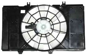 TYC 620120 Dodge/Plymouth Replacement Radiator/Condenser Cooling Fan Assembly