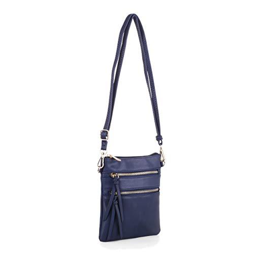 Isabelle Functional Small Women's Crossbody Shoulder Bag (Navy)