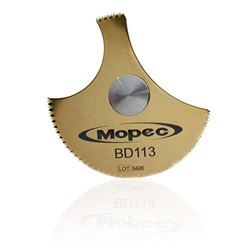 Mopec Autopsy Saw Blade, Supercut 64Mm Round, W/Arbor