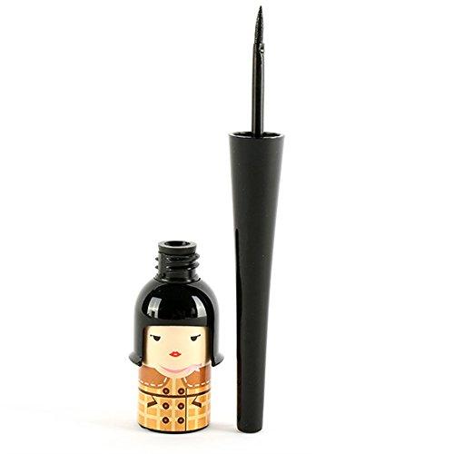 Silvercell Cute Doll Waterproof Black Eyeliner Liquid Pen Pencil Makeup