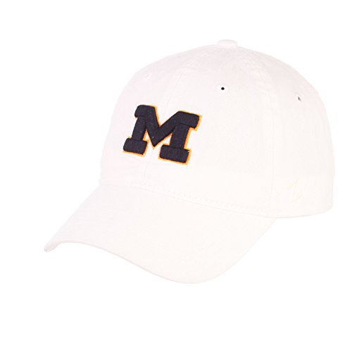 Elite Fan Shop Michigan Wolverines Team Hat White